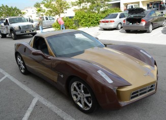 Transformers Customized 2006 Corvette a No Sale on eBay
