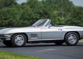 1967 COPO Corvette Sting Ray Convertible Will be Offered at Mecum Chicago