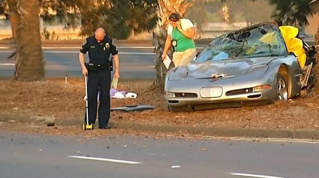 [VIDEO] Street Race Turns Deadly for C5 Corvette Driver