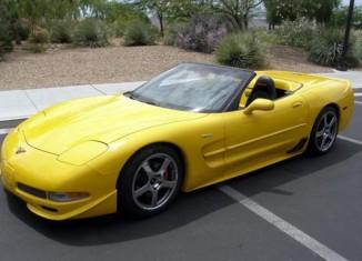 Skunk Werks 2001 Corvette Z06 Convertible Heading to Barrett-Jackson Las Vegas