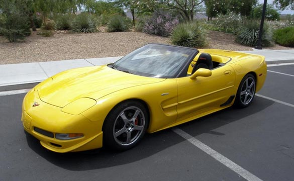 Skunk Werks 2001 Corvette Z06 Convertible Heading to Barrett-Jackson Las Vegas