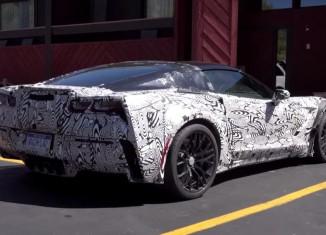 [VIDEO] C7 Corvette Z06 Prototypes Caught Testing in Colorado