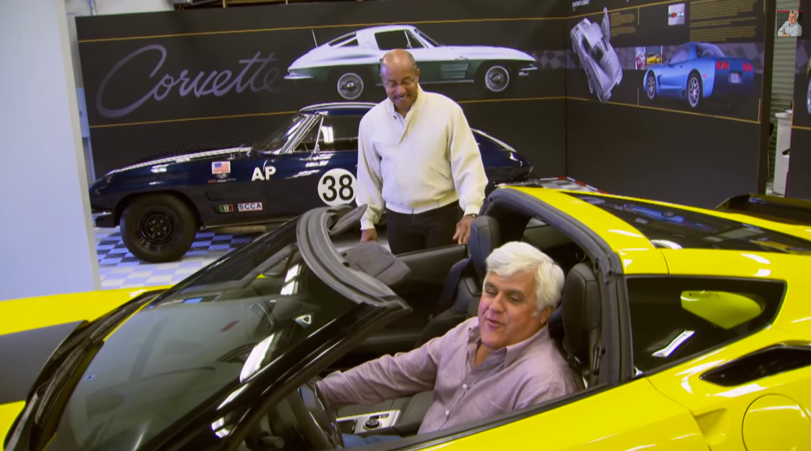 [VIDEO] Ed Welburn Shows Off the New 2015 Corvette Z06 to Jay Leno in Monterey
