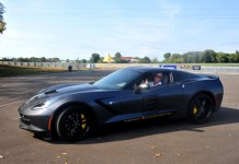 Johnny O'Connell Hits the Track at the Corvette Museum's Motorsports Park