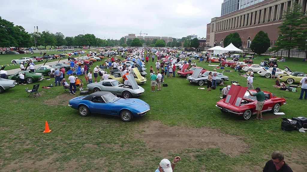 Bloomington Gold Corvette Show to Leave Champaign