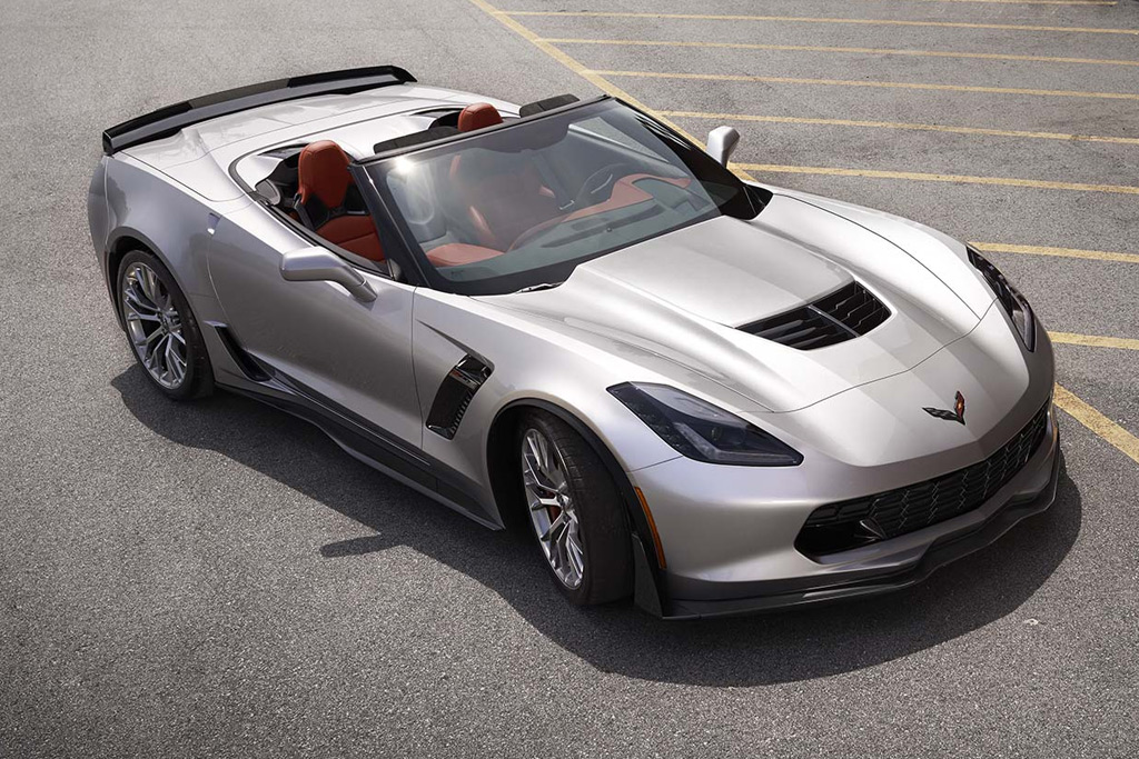 Barrett-Jackson Scottsdale to Sell First Retail 2015 Corvette Z06 Convertible