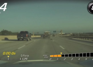 [VIDEO] Corvette Stingray's PDR Captures a Tire Blowout on the Highway
