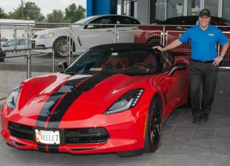National Corvette Seller Mike Furman Nominated for the GM Mark of Customer Excellence Award