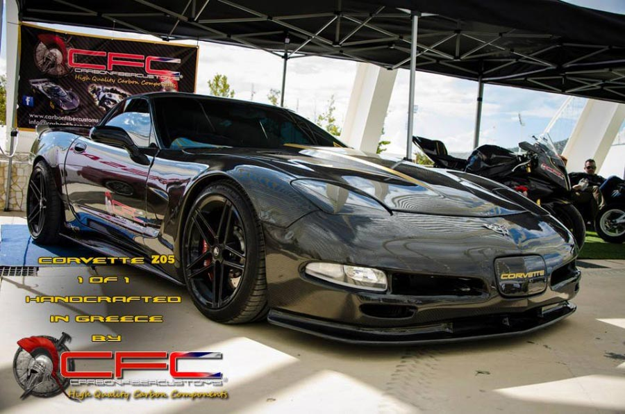 [PICS] C5 Corvette Z06 Looses Nearly 300 Pounds with Full Carbon Fiber Body