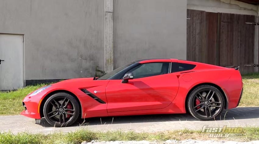 [VIDEO] German Girl Reviews the 2015 Chevrolet Corvette Stingray for Fast Lane Daily