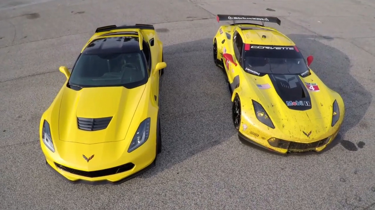 [VIDEO] Track to Street – Corvette C7.R and Z06 Technology Transfer