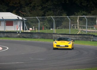 [VIDEO] The C7 Corvette Stingray Competes Against Europe's Best