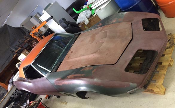Some Assembly Required: 1969 L89 Corvette Offered for Sale in Australia