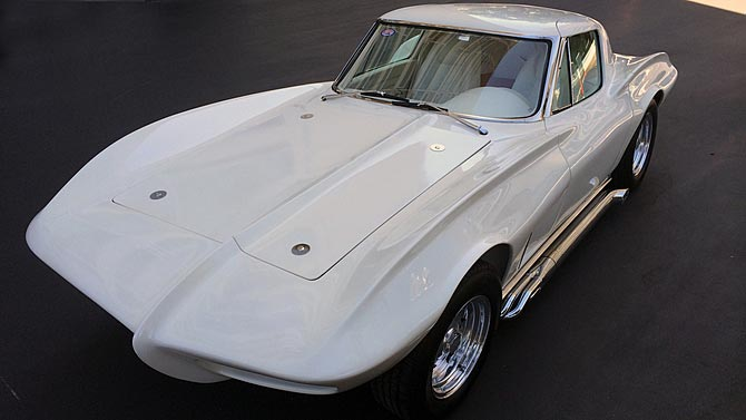 Custom 1963 Corvette Show Car to Cross the Block at Mecum's Anaheim Auction