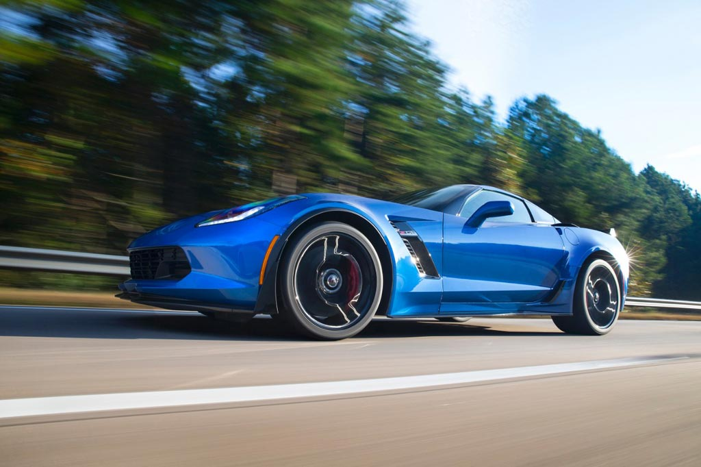 2015 Corvette Z06's Fuel Economy Rating is 23 MPG Highway and 13 MPG City