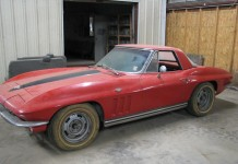 Corvettes on eBay: 1965 Corvette Sting Ray Barn Find