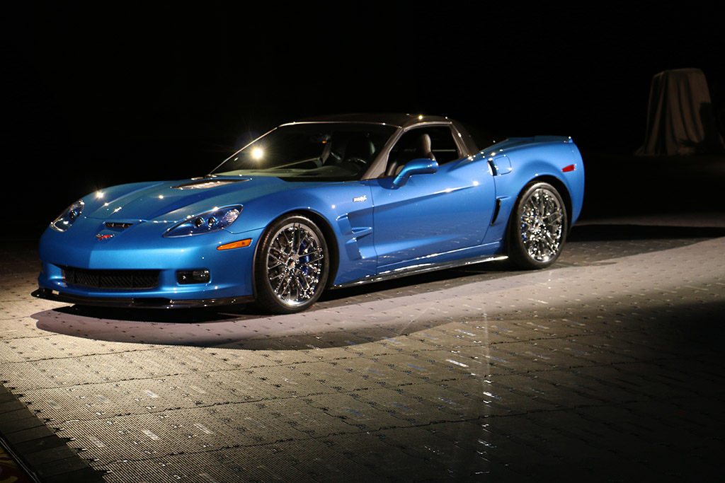 [PICS] GM Reveals Restored 2009 Corvette ZR1 Blue Devil from NCM Sinkhole at SEMA