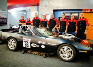 1986 'Sucker Vette' Donated to the National Corvette Museum