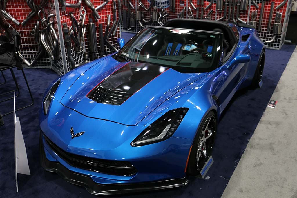 [PICS] The Corvettes at the 2014 SEMA Show