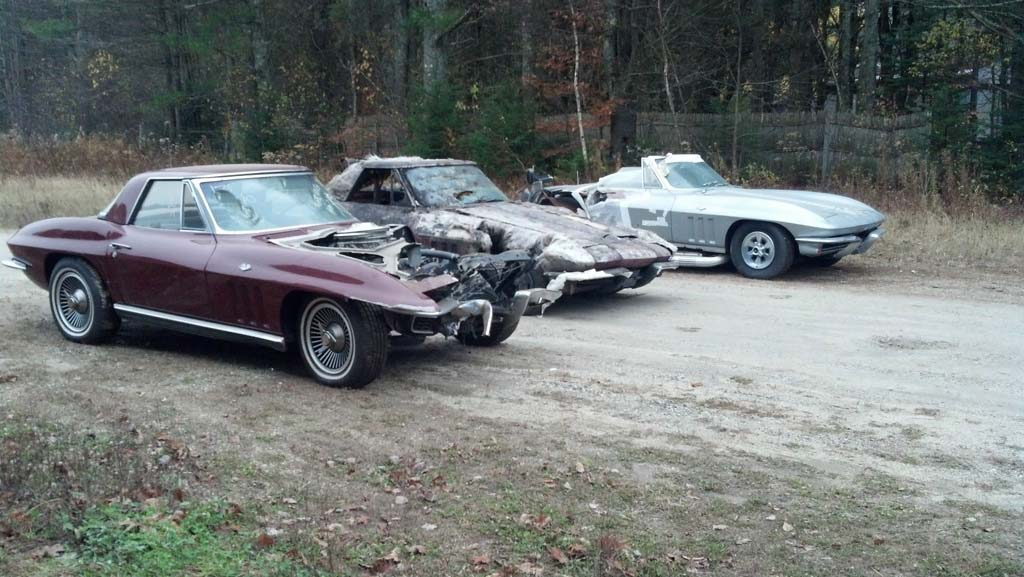 Corvettes on eBay: Package Deal of 11 Project C2 Corvette Sting Rays