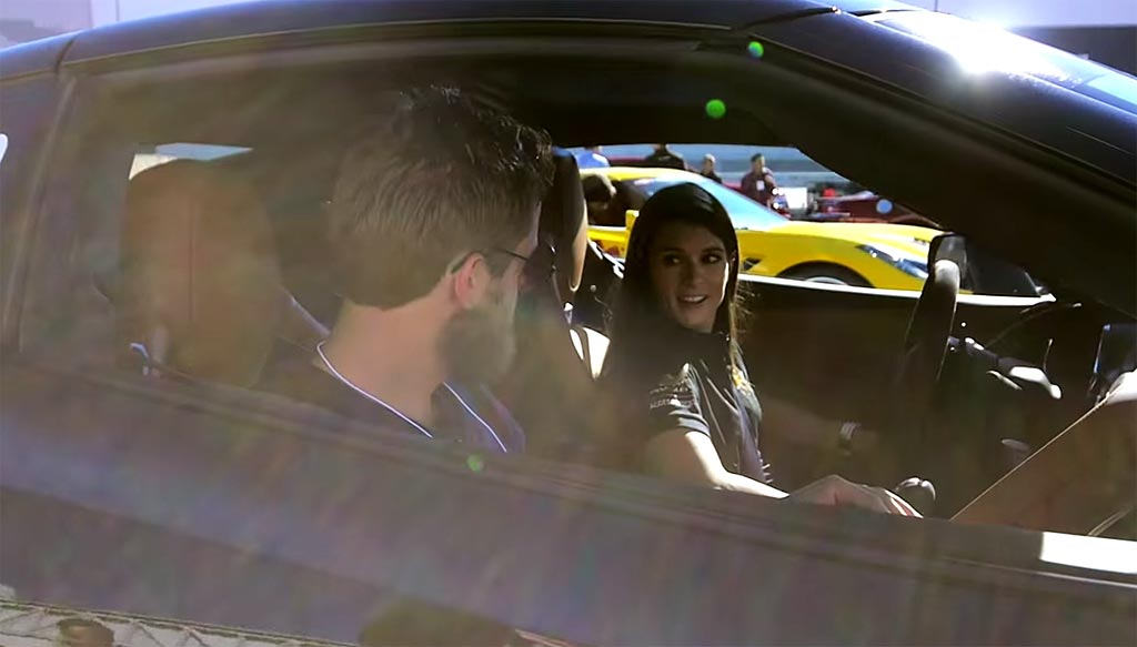 [VIDEO] Take a Ride with Danica Patrick in the Corvette Stingray at SEMA