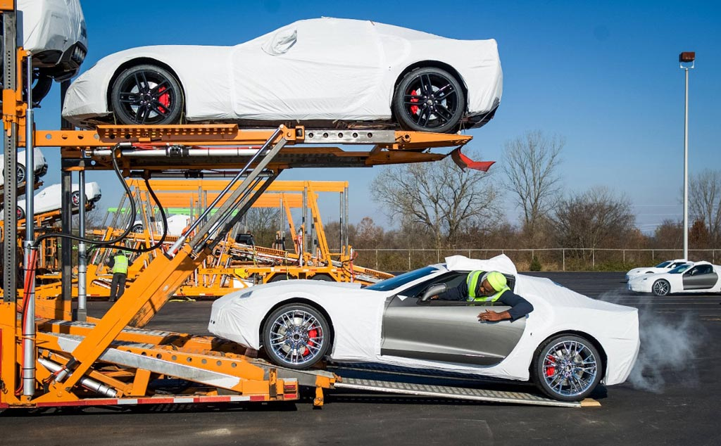 The First 2015 Corvette Z06s Are Now Being Shipped to Customers