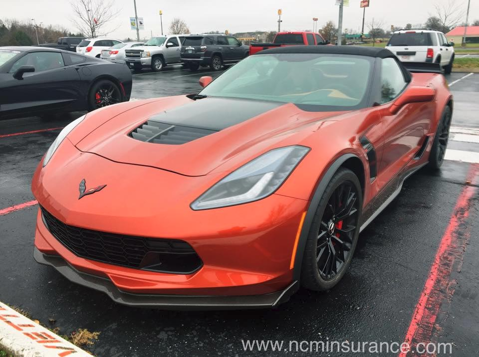 [PICS] Behold the 2015 Corvette Z06 Convertible in Daytona Sunrise Metallic