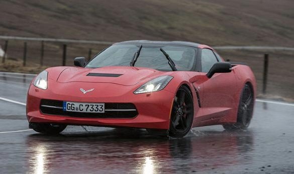 Top Gear's Jeremy Clarkson Picks the Corvette Stingray as his Car of the Year