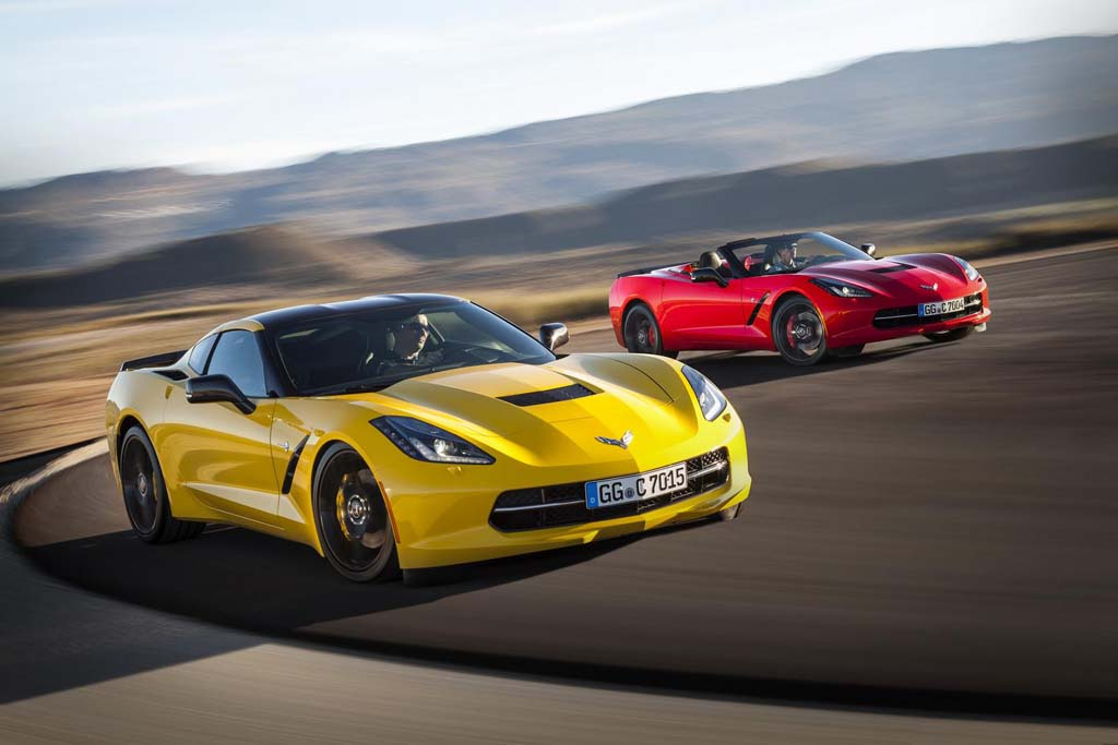 [PICS] Chevrolet Prices the 2015 Corvette Stingray for Europe