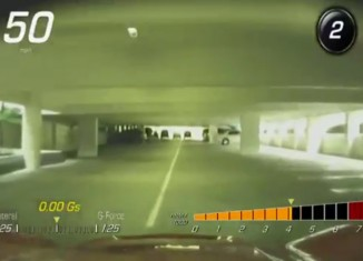 [VIDEO] Corvette Stingray's PDR Catches a Valet Driving Recklessly in a Parking Garage