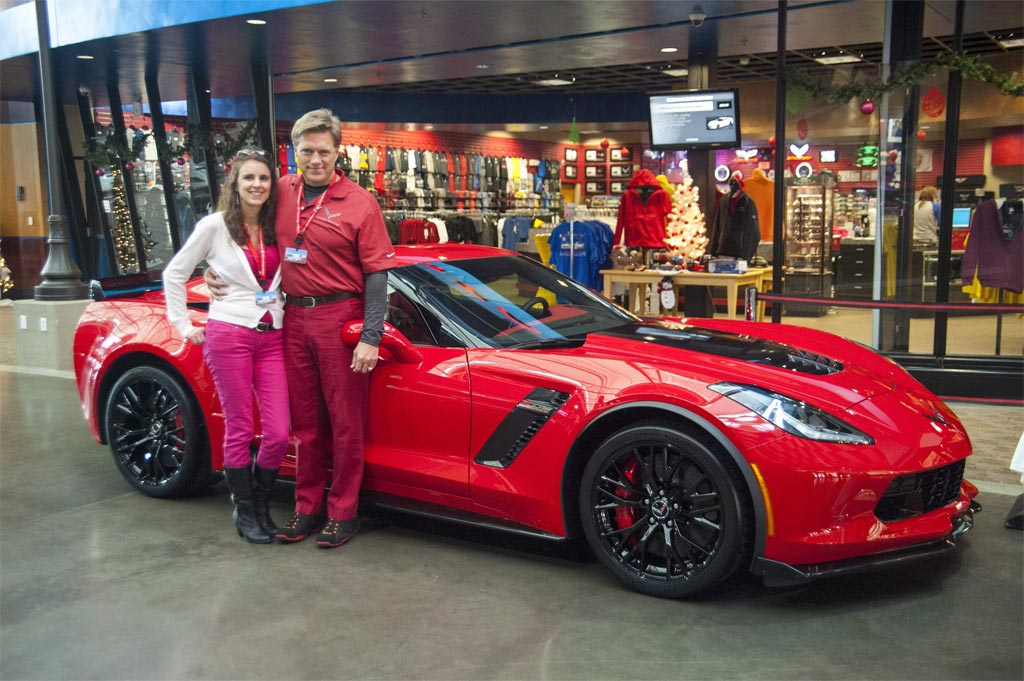 The Man Whose Donated Mallet Hammer Fell Into the Corvette Museum's Sinkhole Gets a 2015 Corvette Z06