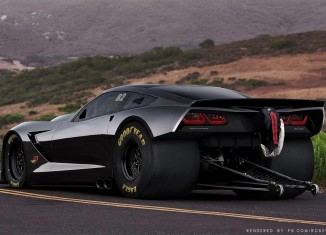 [PIC] C7 Corvette Stingray Rendered as a Hennessey HPE2000 Drag Car