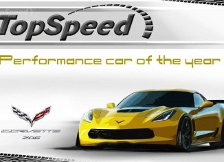 TopSpeed Names the 2015 Corvette Z06 its Performance Car of the Year