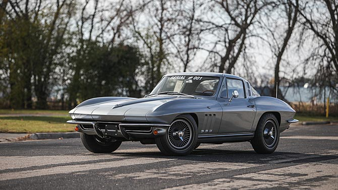 1965 Corvette VIN 001 Heading to Mecum's Kissimmee Auction
