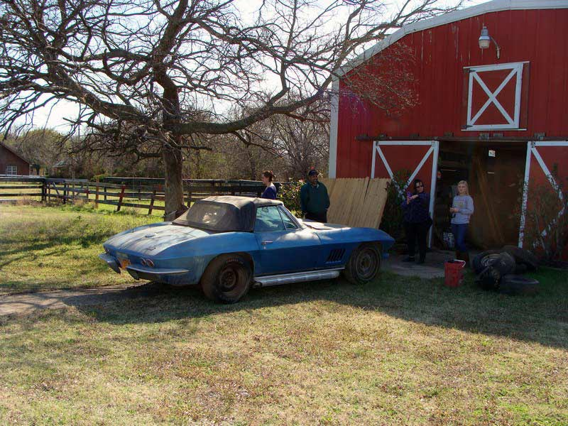 [PICS] 1967 Corvette Sting Ray Barn Find in Texas Now on eBay