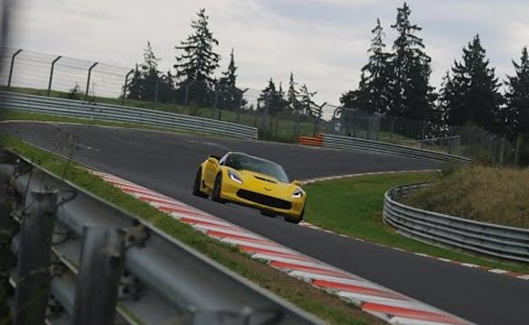"Corvette Enthusiasts ""Do the Math"" to Calculate the Corvette Z06 Nurburgring Time"
