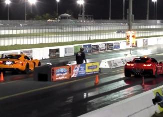 [VIDEO] 2015 Corvette Z06 vs 2014 SRT Viper TA at the Strip