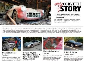 Share Your Corvette Story with Mid America Motorworks' MYCorvetteStory.com
