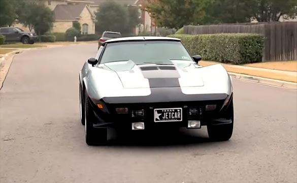 [VIDEO] The Story Behind the World's Only Jet Powered Corvette