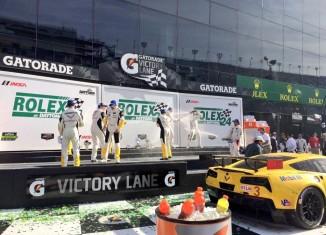 Corvette Racing's No.3 C7.R Wins the Rolex 24 at Daytona