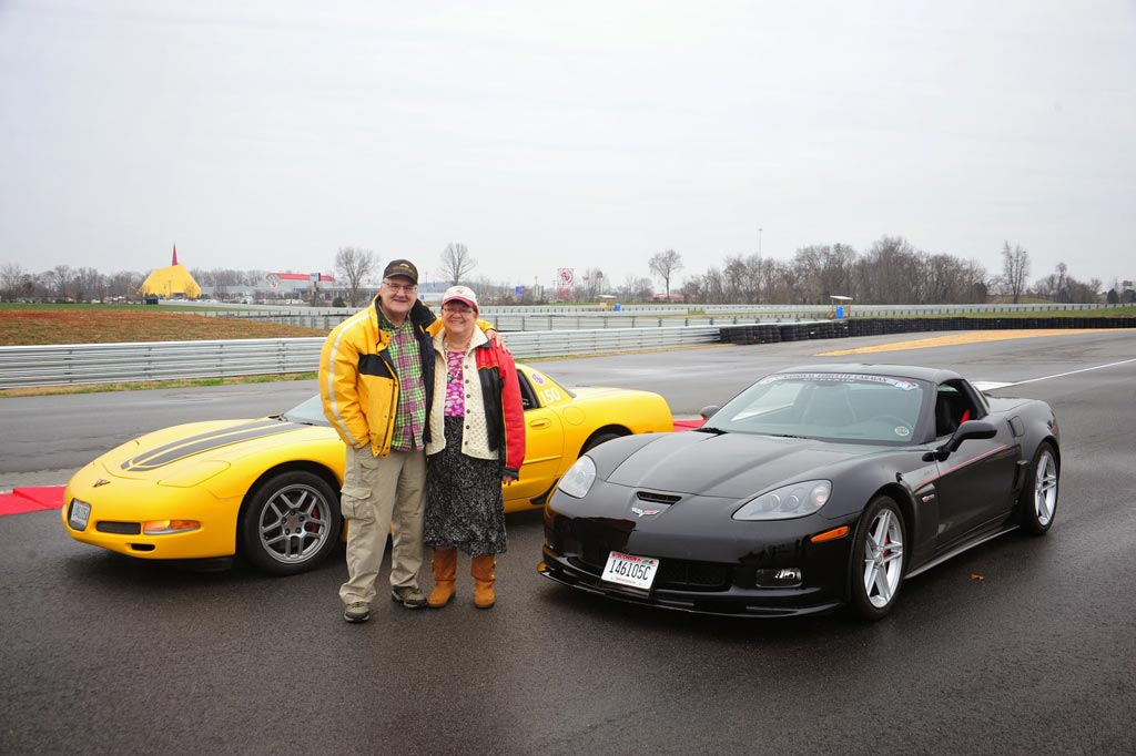 Ivan and Mary Schrodt Donate Five Corvettes to the National Corvette Museum