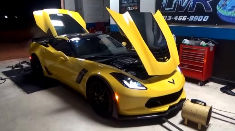 [VIDEO] Late Model Racecraft Stage 2 Package Boosts a 2015 Corvette Z06 to 743 RWHP