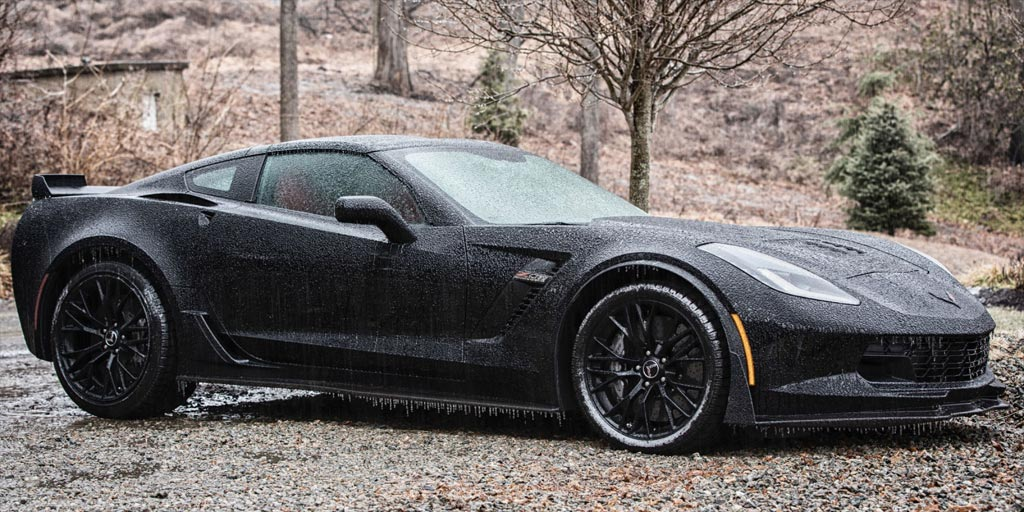 [CRAZY] Man Plans to Use a 2015 Corvette Z06 as his Winter Beater