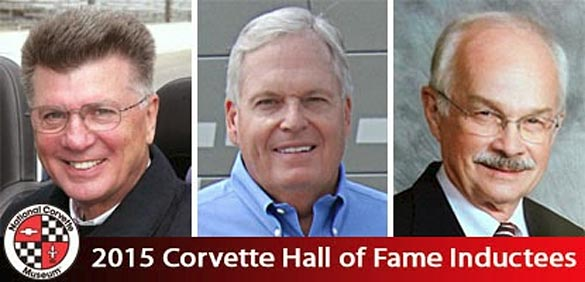 Corvette Museum Names Three Inductees for the 2015 Corvette Hall of Fame