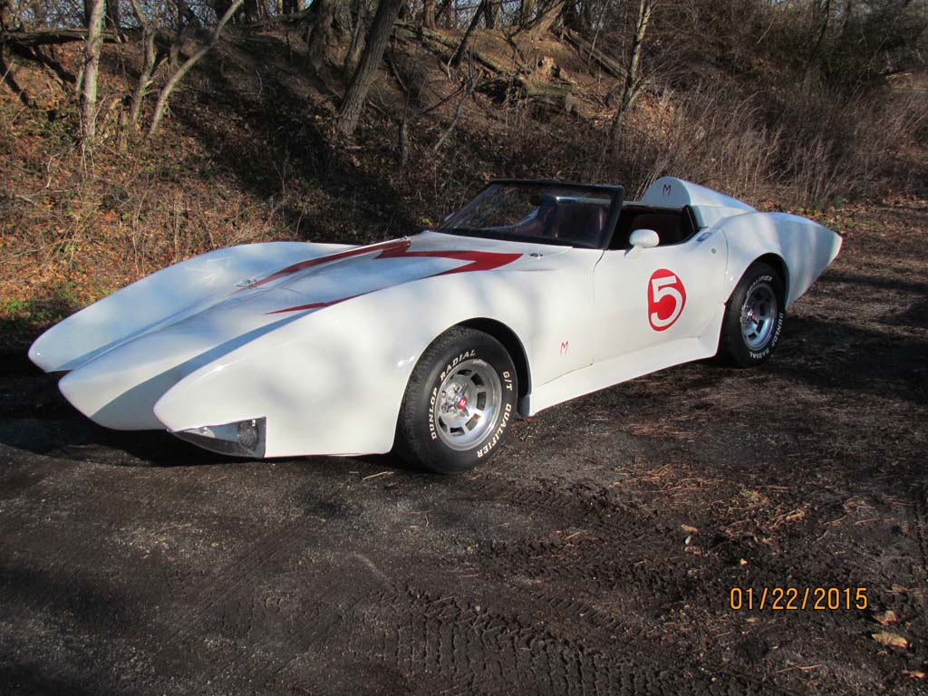 Corvettes on eBay: 1981 Corvette-Based Speed Racer Mach 5 Replica