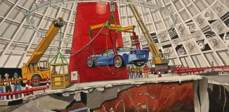 [VIDEO] Win a Dana Forrester Print in the Corvette Museum's Sinkhole Contest
