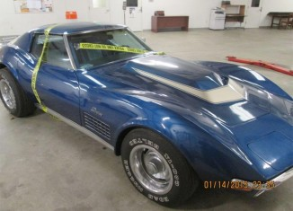 [VIDEO] Stolen 1972 Corvette Found after 43 Years but Legal Roadblocks Prevent Reunion with Owner