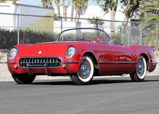 1954 Corvette Offered by Mecum's Las Vegas Auction at No Reserve