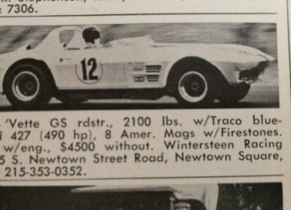 [PIC] Throwback Thursday: One of the Original 1963 Corvette Grand Sports for Sale