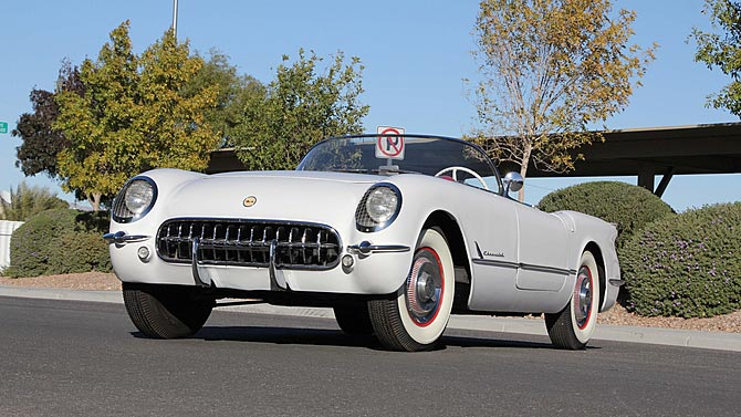 Mecum Las Vegas Auction Offers 1953 Corvette Roadster at No Reserve